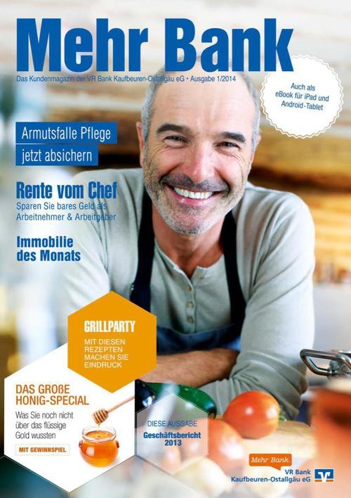 Mehr Bank - Ausgabe 1/2014