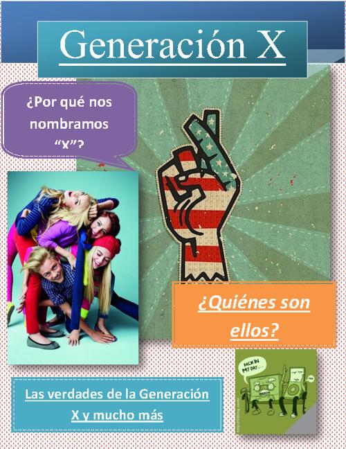 Generación X L / MI 11:00 a 1:00 Equipo Buenos Videos