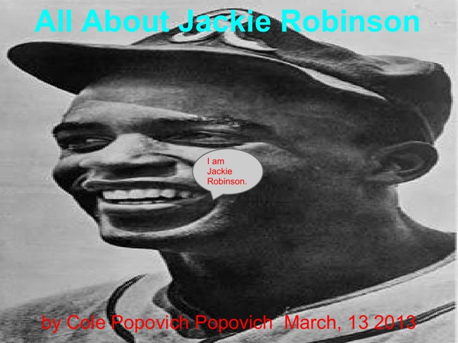 All About Jackie Robinson