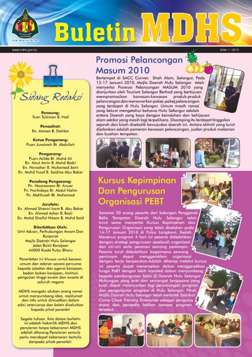 Buletin MD Hulu Selangor