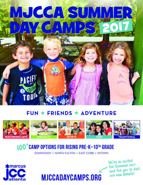 MJCCA | Summer Day Camps Catalog 2017