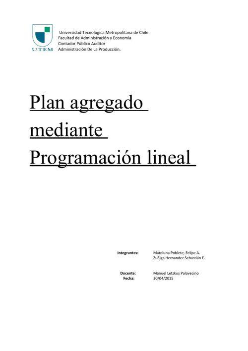 (510704347) ProgLineal
