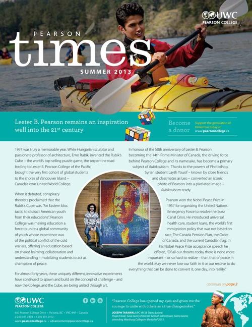 Pearson Times - Summer Edition
