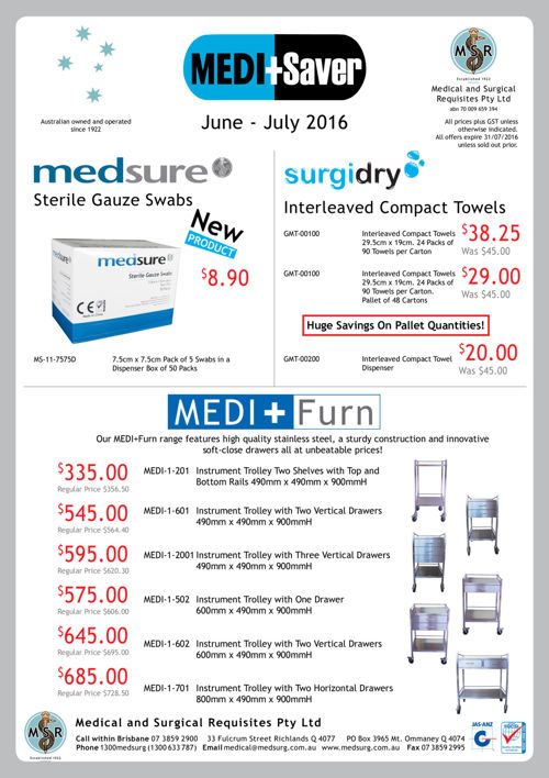 MEDI+Saver June - July 2016