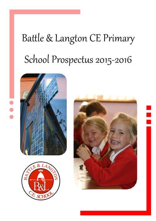 Copy of Battle & Langton School Prospectus 2015-2015