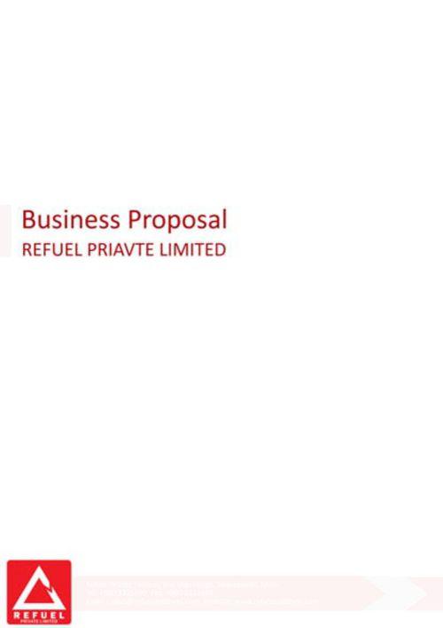 Refuel Proposal