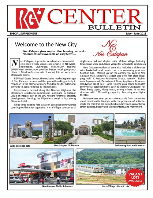 RGV Center Bulletin new