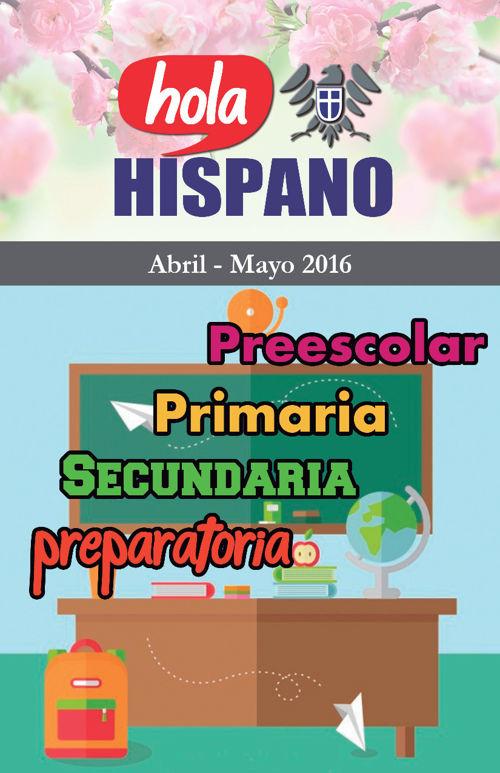 Hola Hispano Abril -Mayo 2016