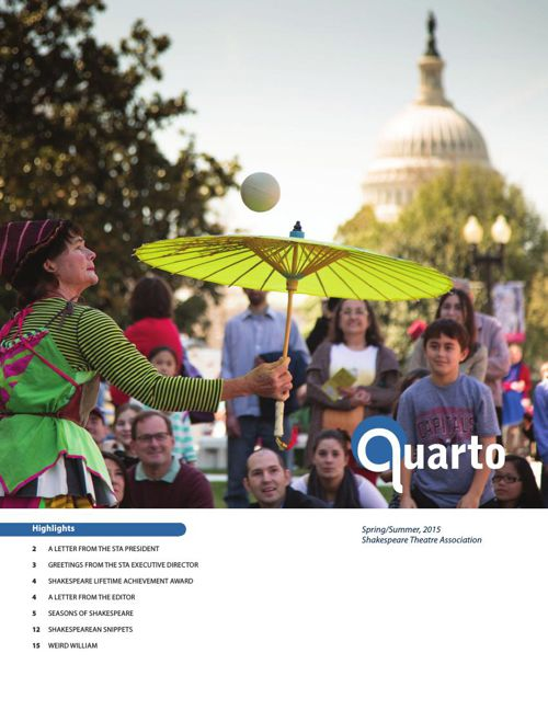 QUARTO MAGAZINE SPRING/SUMMER 2015 EDITION