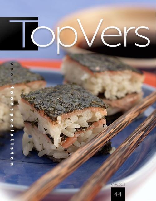 Apriluitgave versmagazine TopVers