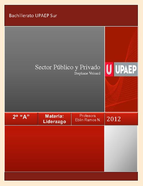 Sectores Públicos y Privados