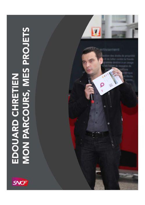 Mon parcours, Mes projets - Edouard CHRETIEN
