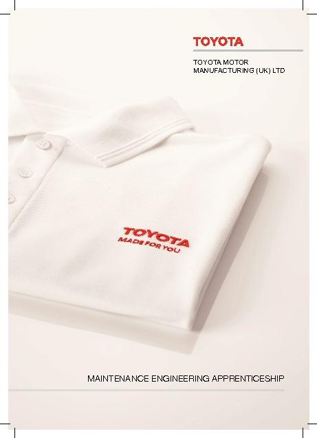 Toyota Apprentice Brochure