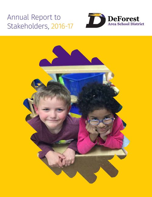 2016-17 DASD Annual Report to Stakeholders