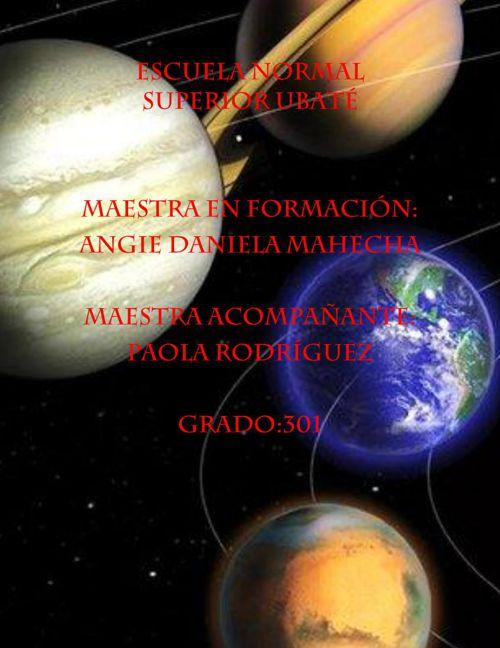 sistema solar plan