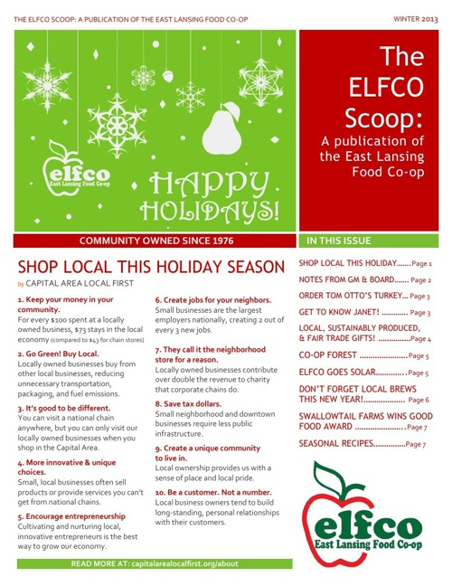 ELFCO Scoop -WINTER2013 (1)