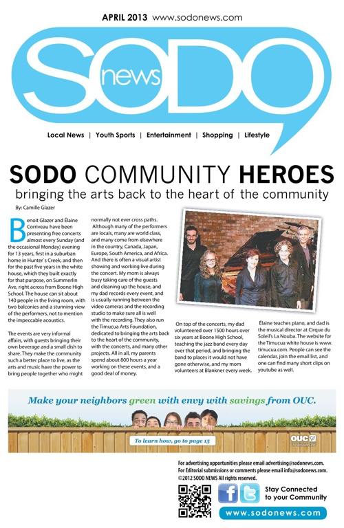 SODO News April 2013
