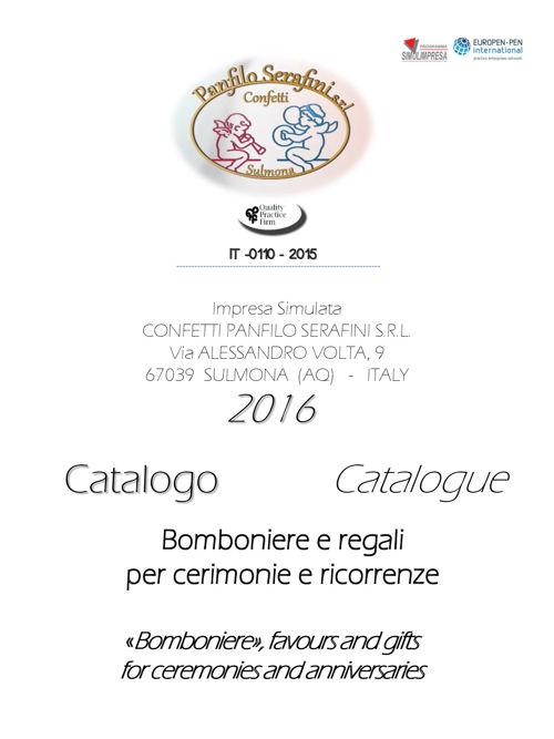 CATALOGO BOMBONIERE