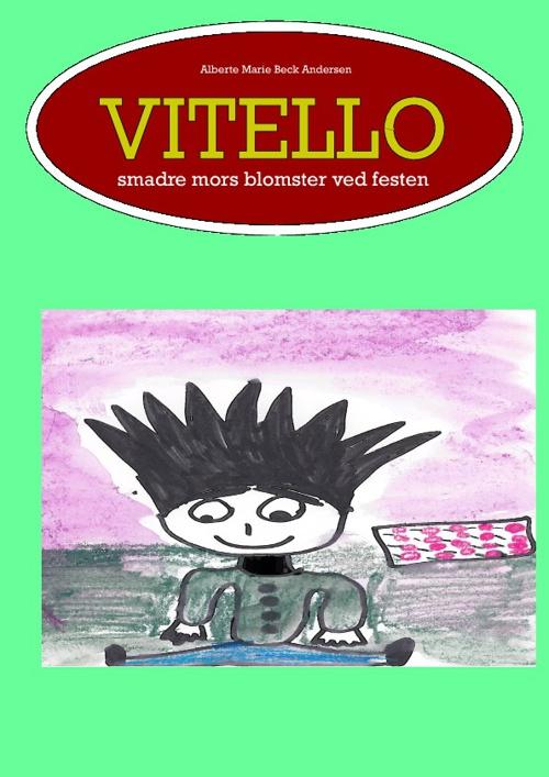 Vitello smadrer mors blomster ved festen