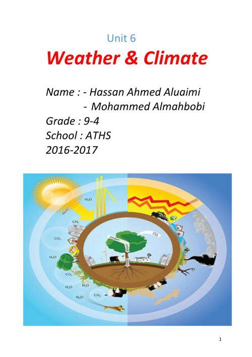 Unit 6 ~ Vocabulary _ Hassan Ahmed Alnuaimi 9-4