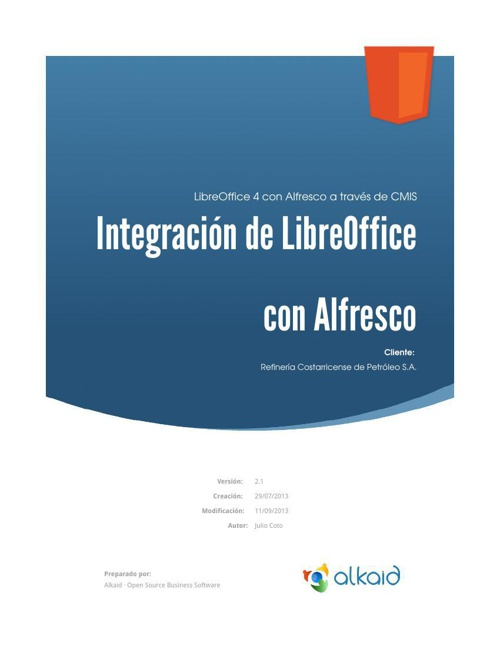 HowTo-Alfresco-Integracion-LibreOffice4.0