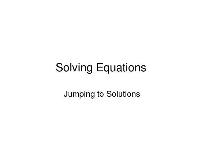Algebra 1 Chapter 3