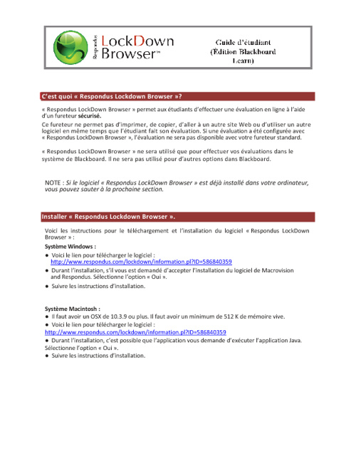 Tutoriel - Publication et notes