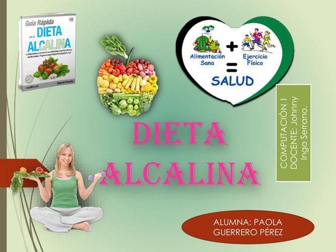 Dieta Alcalina.