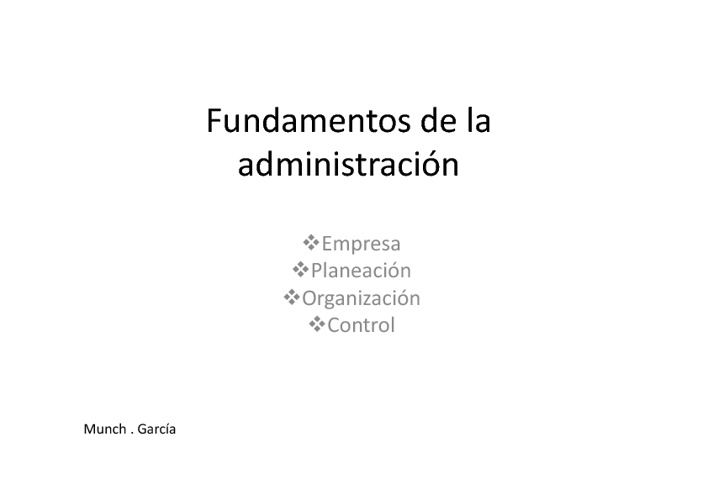 Copy of fundamentos de la administracion