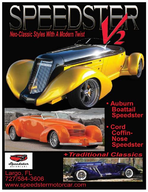 Speedster Motor Cars Brochure