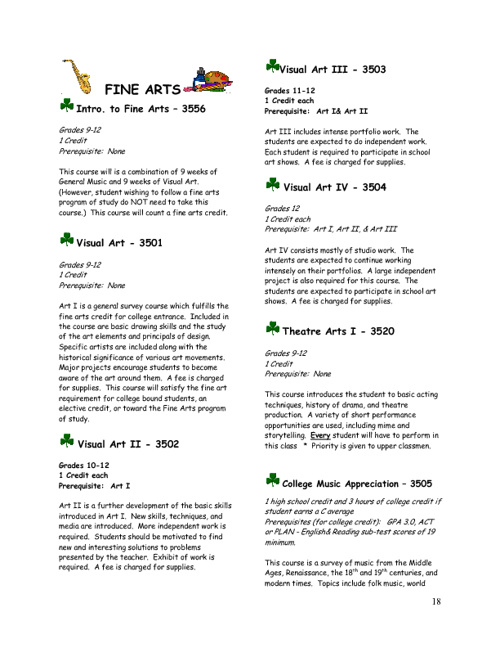 2012-2013 Course Descriptions