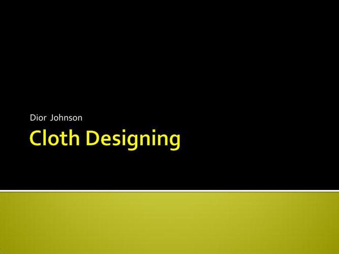 Cloth Designing