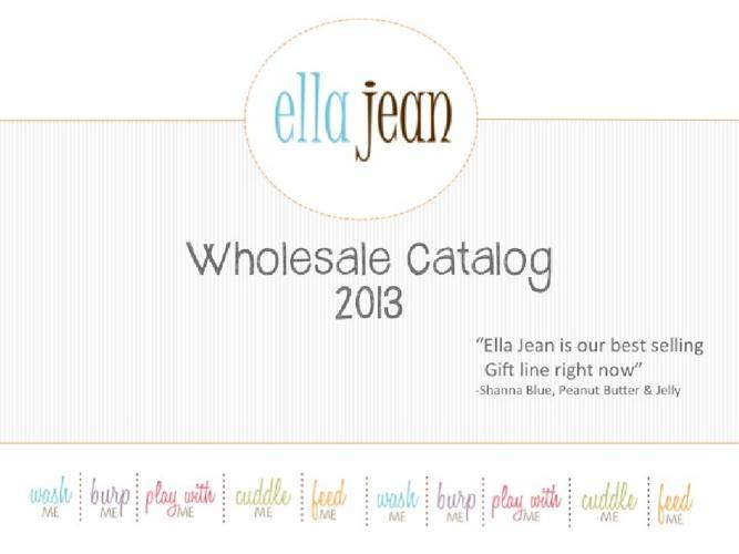 Ella Jean 2013 Wholesale Catalog