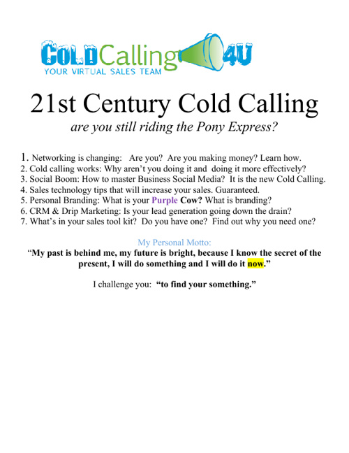 Cold Calling 4 U Review