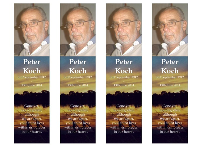 Bookmark for Peter Koch