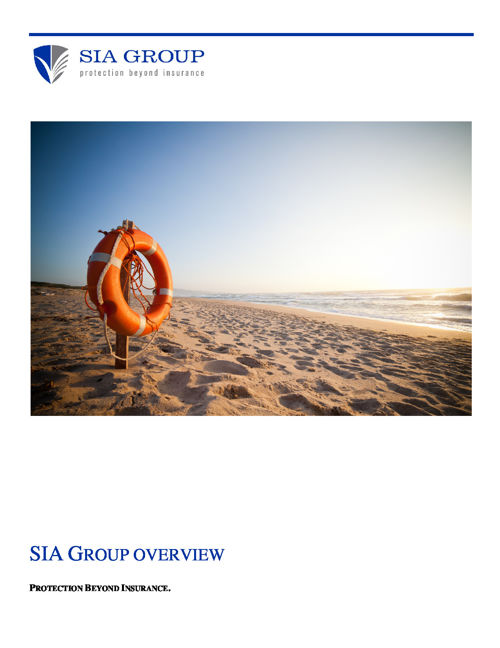 2016 SIA Group Overview