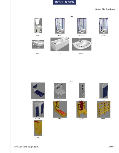 13_DOSCH 3D - Furniture.Vol.1