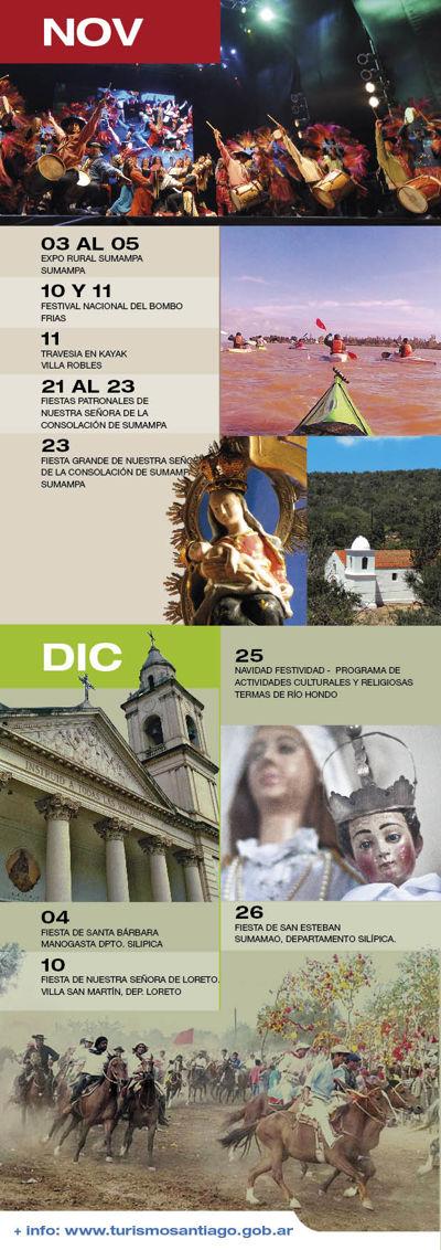 TURISMO SANTIAGO: Calendario 2017