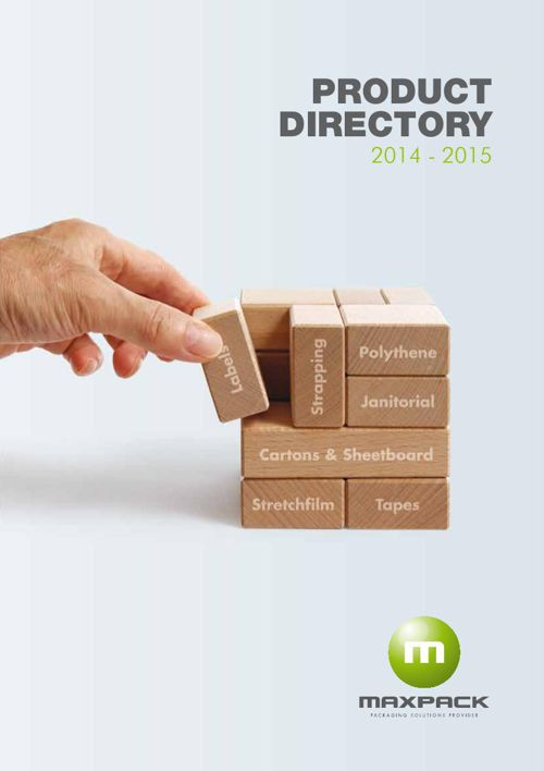 Maxpack Product Directory 2014 - 2015