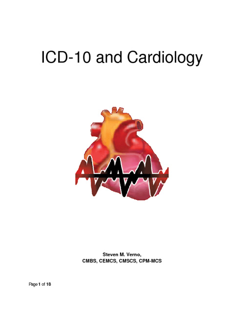 ICD-10 Cardiology