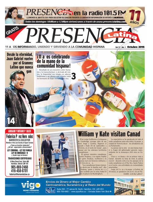 Presencia Latina Version Virtual Noviembre 2016