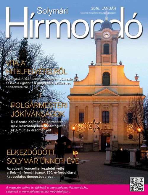 Solymari Hirmondo – 2016. januar