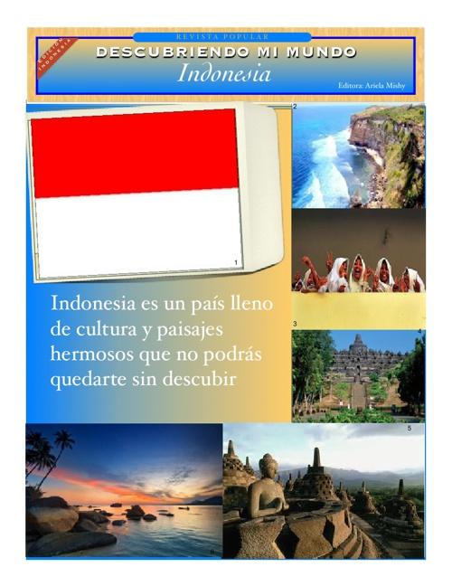 Descubriendo mi mundo Indonesia