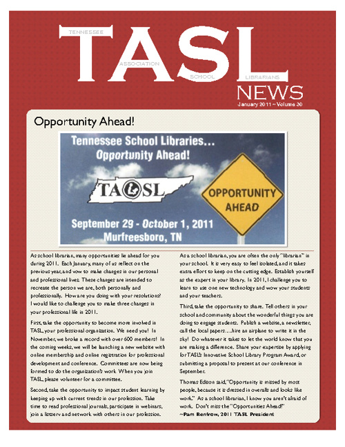 TASL News January 2011