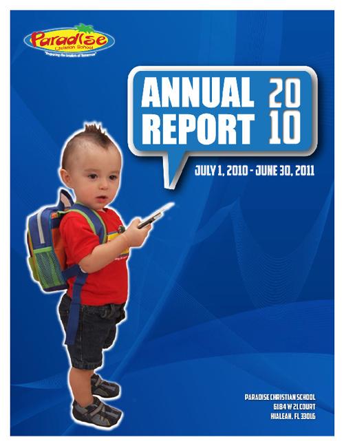 Paradise Annual Report