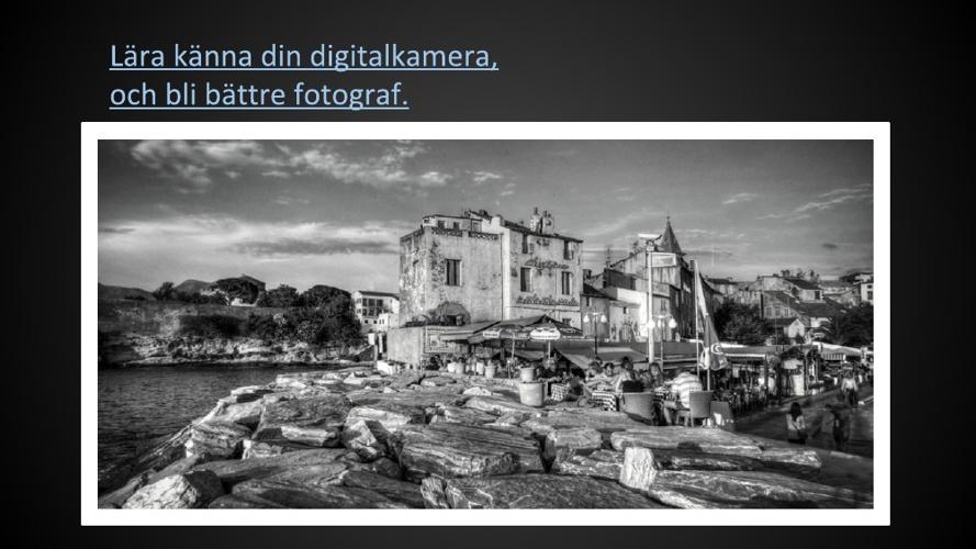 Lära känna din digitalkamera