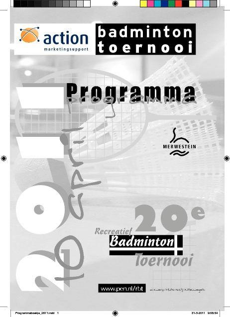 rbt programmaboekje 2011