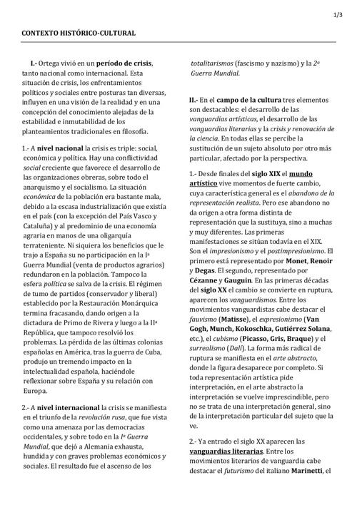 Ortega Contexto Impresión