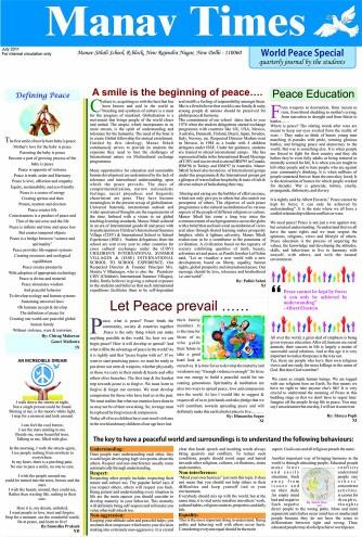 Manav Times July-2011