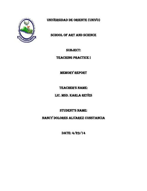 memory report